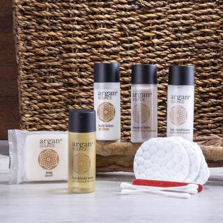 Cestovní sada kosmetiky s arganovým olejem