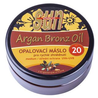 Opalovací máslo s arganovým olejem OF 20 200 ml