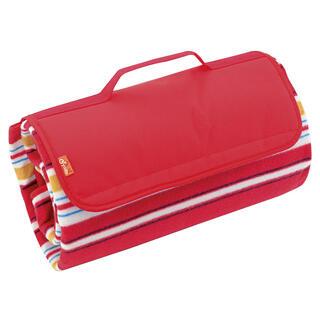 Pikniková deka 150 x 135 cm červená