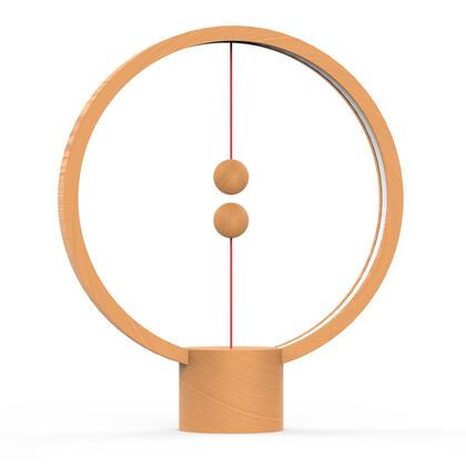 Dřevěná stolní lampa Heng Balance Lamp Round USB
