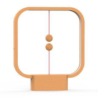 Dřevěná stolní lampa Heng Balance Lamp Square USB
