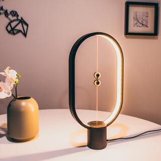 Stolní lampa Heng Balance Lamp Plastic Ellipse USB černá