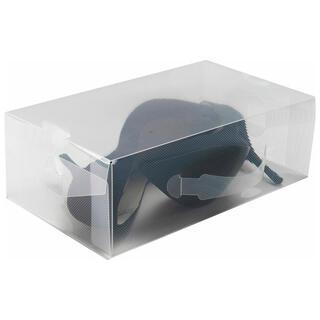 Úložný box na nízké boty transparentní