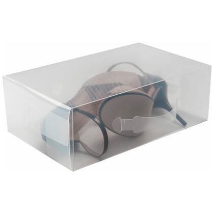 Úložný box na nízké boty transparentní, velikost L