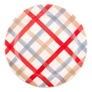 Porcelánový dezertní talíř PARILLA červený