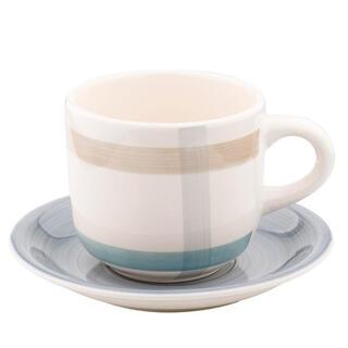 Porcelánový šálek s podšálkem PARILLA modrý 340 ml