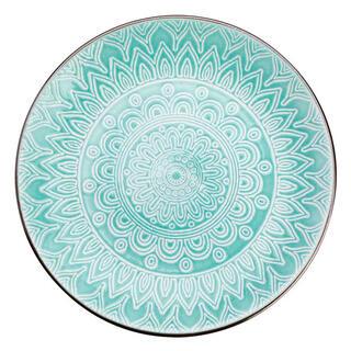 Keramický dezertní talíř Maroko mátový