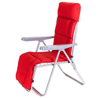 Židle zahradní skládací MANILLA červená