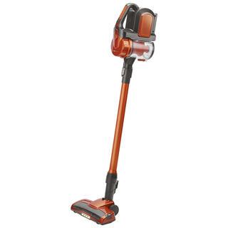 Akumulátorový bezsáčkový ruční vysavač oranžový