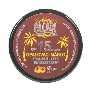 Opalovací máslo s kokosovým olejem ALOHA SPF 15 200 ml