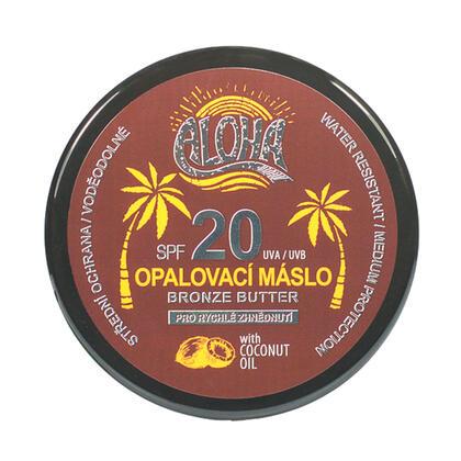 Opalovací máslo s kokosovým olejem ALOHA SPF 20 200 ml