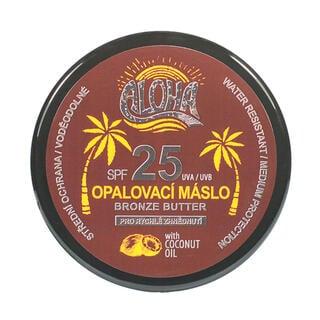 Opalovací máslo s kokosovým olejem ALOHA SPF 25 200 ml