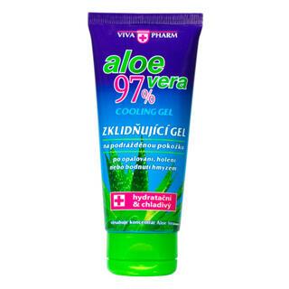 Zklidňující gel s Aloe vera 97% VIVAPHARM 100 ml