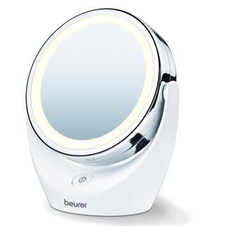 Kosmetické výkyvné zrcadlo s LED osvětlením