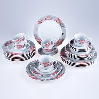 Porcelánová jídelní sada ROSETTA 30 ks