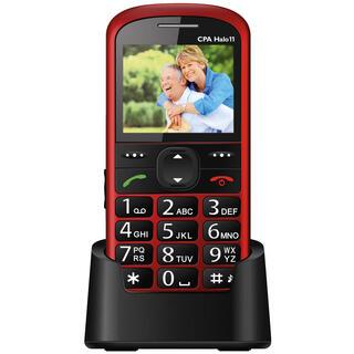 Mobilní telefon HALO 11 červený