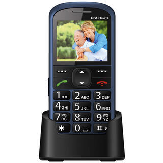 Mobilní telefon HALO 11 modrý
