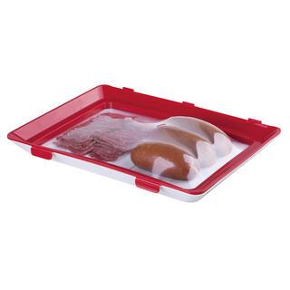 Tác na potraviny s elastickým víkem, 2 ks