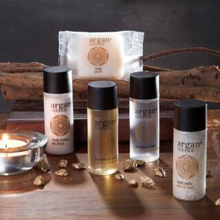 Sada cestovní kosmetiky s arganovým olejem
