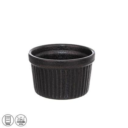 Zapékací porcelánová miska BLACK 9 x 5,5 cm