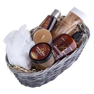Dárkový koš kosmetiky s arganovým olejem