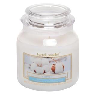 Svíčka ve skle s víčkem SVĚŽÍ BAVLNA 430 g