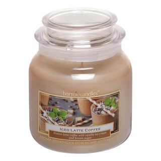 Svíčka ve skle s víčkem LEDOVÉ LATTÉ 430 g