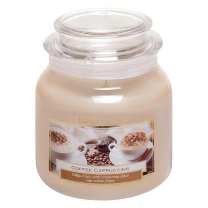 Svíčka ve skle s víčkem CAPPUCCINO 430 g