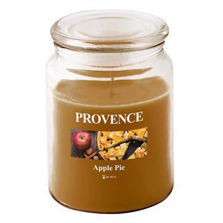 Svíčka ve skle s víčkem Jablečný závin, 510 g