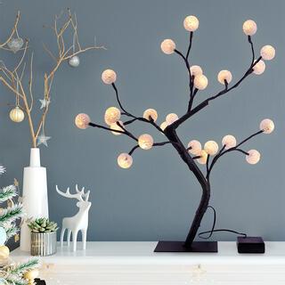Dekorační svítící bonsai