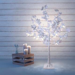 Dekorační svíticí javor venkovní 72 LED, 1 m