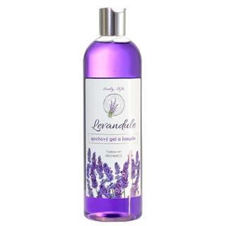 Sprchový gel a šampon s levandulovým olejem BT Premium 500 ml
