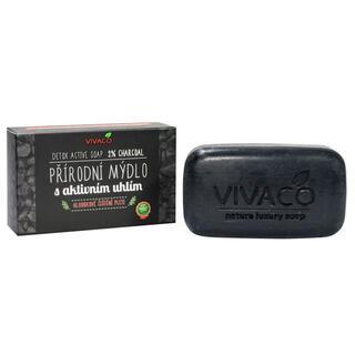 Přírodní mýdlo s aktivním uhlím 100 g