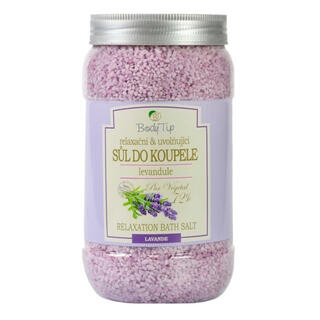 Sůl do koupele Levandule BODY TIP 1200 g