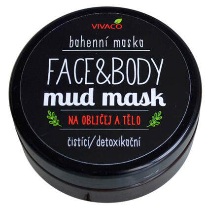 Bahenní maska na obličej a tělo 200 ml