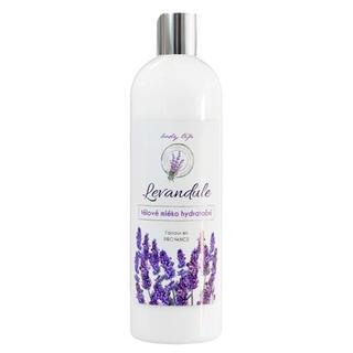 Tělové mléko s levandulovým olejem BT Premium 500 ml