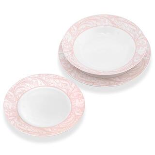 Porcelánová sada talířů BELIA 18 ks