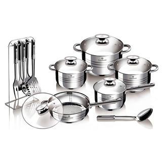 Sada nádobí nerez 17 dílů Gourmet Line