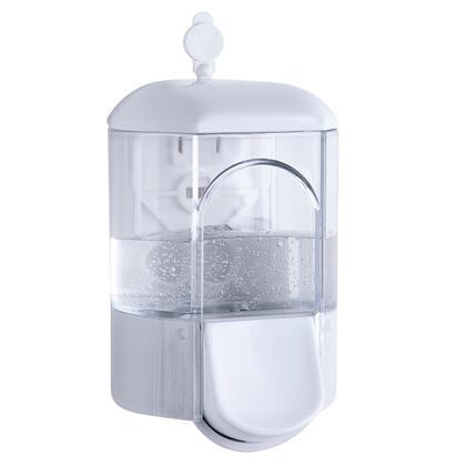 Transparentní dávkovač na mýdlo, 350 ml