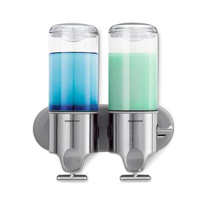 Nástěnný dávkovač tekutého mýdla Simplehuman, 2dílný