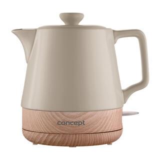 Rychlovarná konvice keramická 1 l kávová
