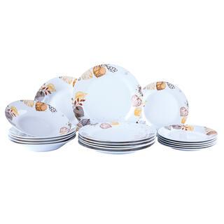 Porcelánová jídelní souprava AUTUMN SPIRIT 18 dílů