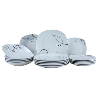 Porcelánová jídelní souprava CHANSON 18 dílů