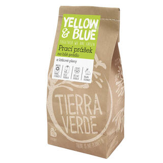 Tierra Verde Prací prášek na bílé prádlo a pleny, 850 g