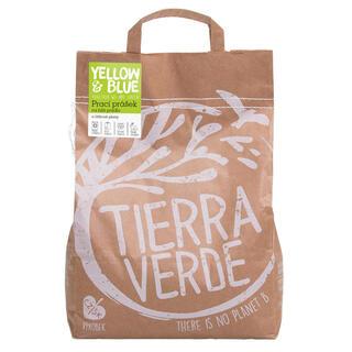 Tierra Verde Prací prášek na bílé prádlo a pleny, 5 kg