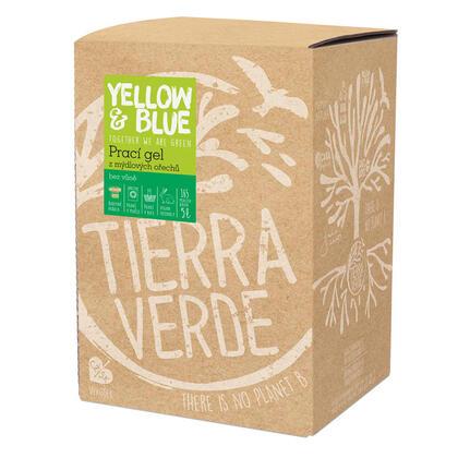 Tierra Verde Prací gel bez vůně, 5 l