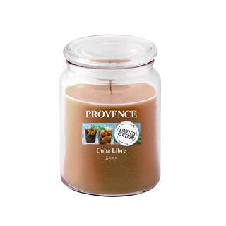 Svíčka ve skle s víčkem CUBA LIBRE 510 g