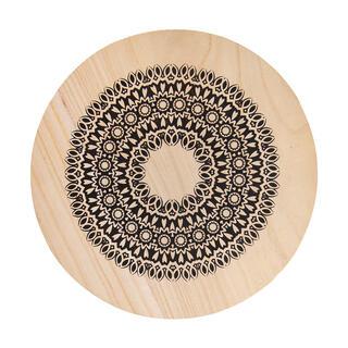 Dřevěná podložka pod hrnec MANDALA