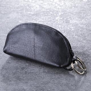 Kožená klíčenka kapsová