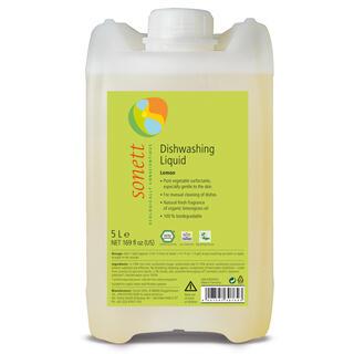 SONETT Tekutý prostředek na nádobí - citrón, 5 l